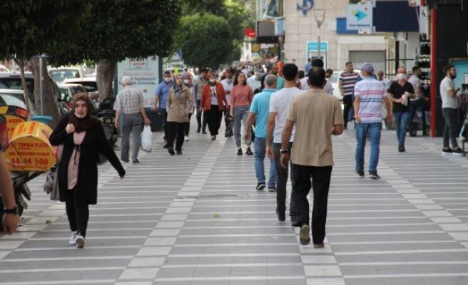 Urfa'da maske denetimi: 114 kişiye ceza
