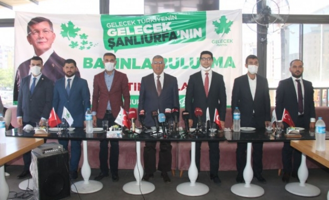 Gelecek Partisi Urfa İlçe Başkanları tanıtıldı