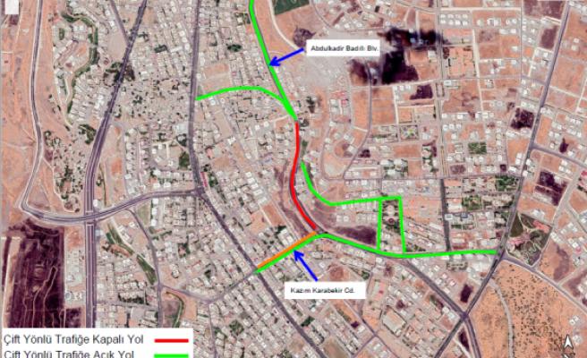 Urfa'da sürücüler dikkat! Yol trafiğe kapatılıyor