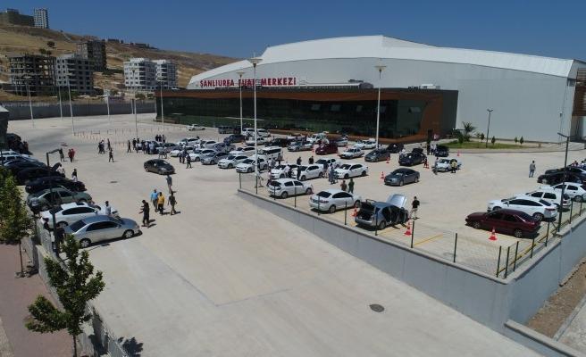 Urfa'nın en büyük açık oto pazarı hizmete girdi