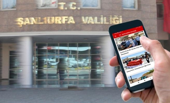 Şanlıurfa Valiliği'nden Türkiye'de ilk! Mobil uygulama başladı