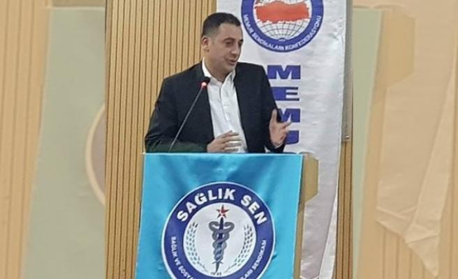 Sağlık-Sen Şanlıurfa Şube Başkanı görevden alındı