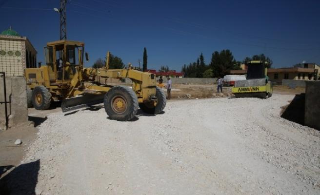 Haliliye'nin kırsal mahallelerinde yeni yol çalışmaları sürüyor