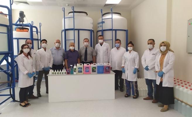 Harran Üniversitesi laboratuarında markalı üretim!