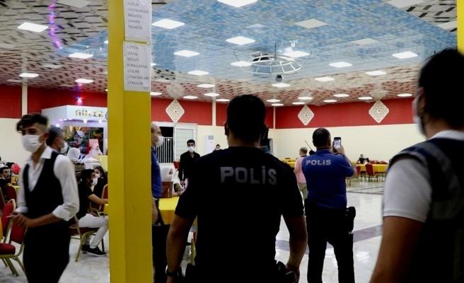 Şanlıurfa'da 125 düğün denetlendi: 275 kişiye ceza