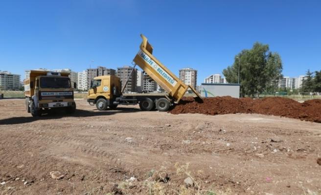 Haliliye'de 5 yeni parkta çalışmalar sürüyor