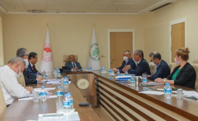 Urfa'da koordinasyon toplantısı yapıldı