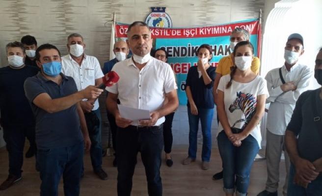 Türkmen, işçiler için konuştu: Kölelik düzeni son bulsun