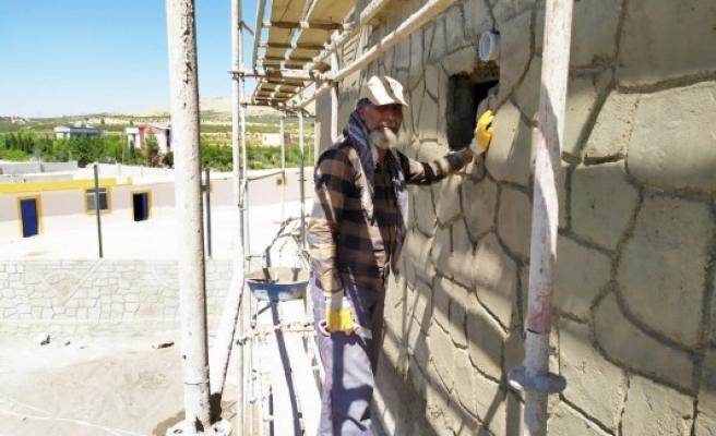 Urfa'da duvar ören heykeltıraşa İBB'den mesaj var!