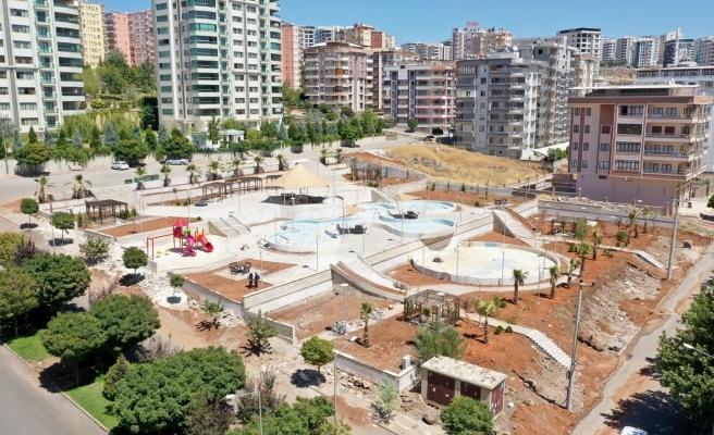 Karaköprü'de 'modern park' yapımı tamamlanıyor