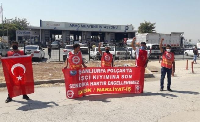 Urfa'da işçilerin eylemi 648 gündür sürüyor