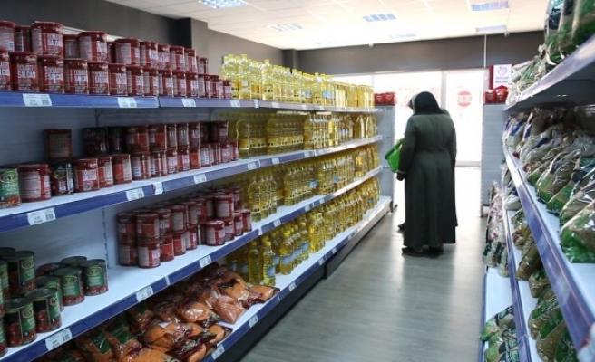 Urfa'da ihtiyaç sahipleri marketten ücretsiz alışveriş yapıyor