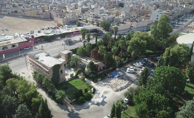 Şanlıurfa'daki tarihi yapı restore ediliyor
