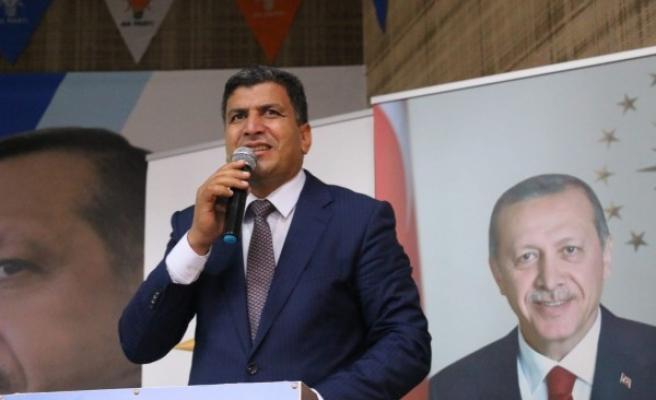 AK Parti Harran İlçe Başkanı güven tazeledi