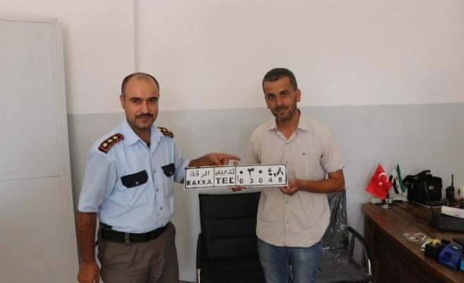 Barış Pınarı Bölgesinde araçlar tescil ediliyor!