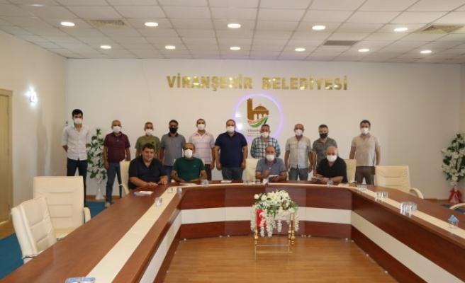 Viranşehir'de futbol sezonu öncesinde toplantı yapıldı