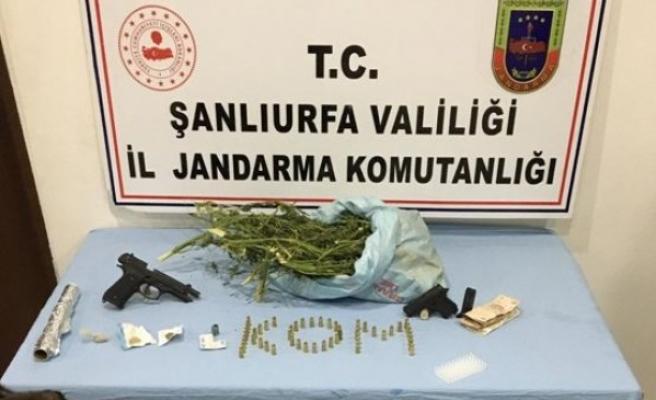 Urfa'da uyuşturucu operasyonu: Gözaltı var