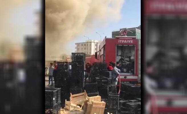 ŞUTİM'de pide fırını yandı: 5 yaralı
