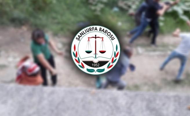 Urfa Barosundan Sakarya'daki saldırı iddiası için açıklama