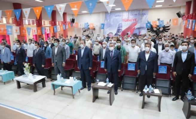 AK Parti Suruç İlçe Başkanı belli oldu