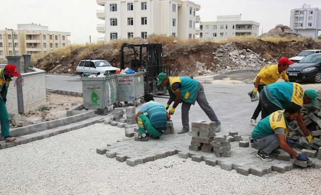 Seyrantepe'de kış hazırlıkları devam ediyor