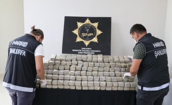 Urfa'da operasyon: Piyasa değeri 12 milyon
