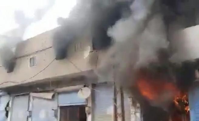 Ceylanpınar'ın karşısında bombalı saldırı düzenlendi