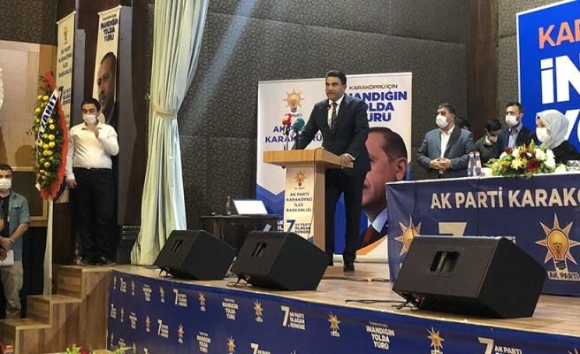 AK Parti Karaköprü İlçe Başkanı güven tazeledi