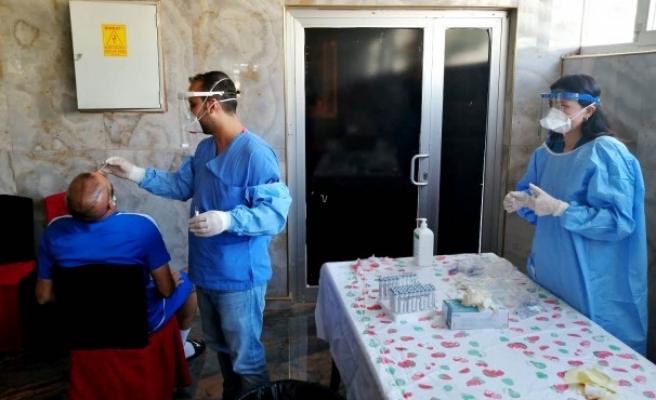 Urfa ekibinde koronavirüs testleri yapıldı