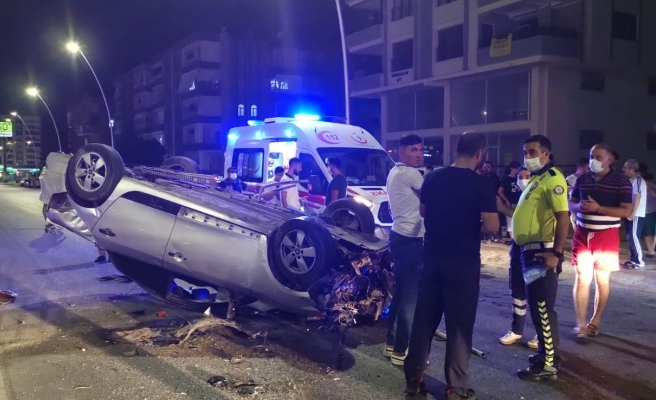 Şanlıurfa'da kaza! Araç hurdaya döndü