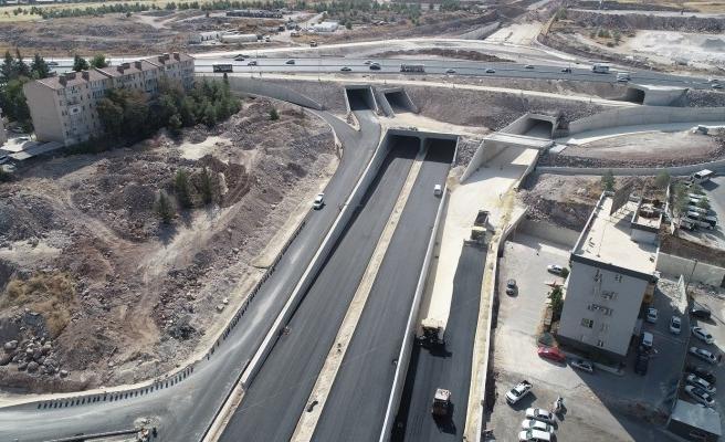 Urfa'daki yol geçici olarak trafiğe kapatılıyor