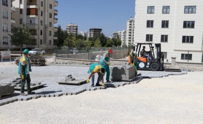 Karaköprü'de yol sorununun bitmesi için çalışmalar sürüyor