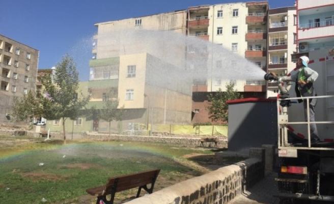 Viranşehir'de sonbahar temizliği devam ediyor