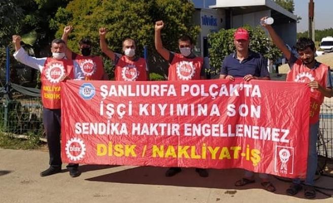 Urfa'da eylem yapan işçiler için önemli karar!