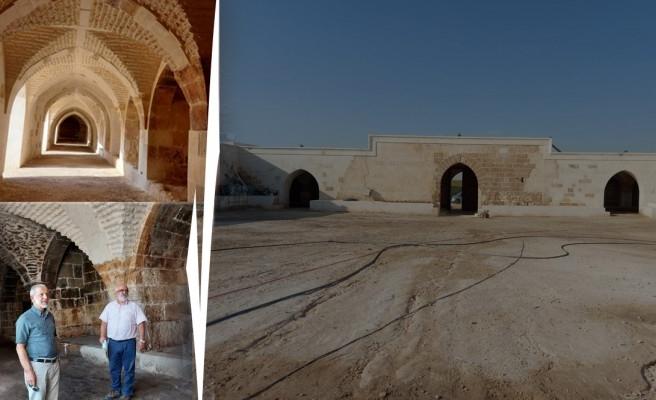Şanlıurfa'da 800 yıllık kervansarayın restorasyonu tamamlandı!