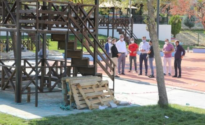 Nostaljik Çocuk Oyun Dünyası açılışa hazırlanıyor