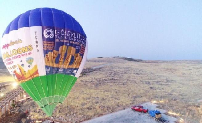 Göbeklitepe'de balon turları için geri sayım başladı!