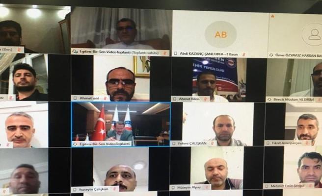 Toplantıda eğitim ele alındı: Urfa Şubesi de katıldı