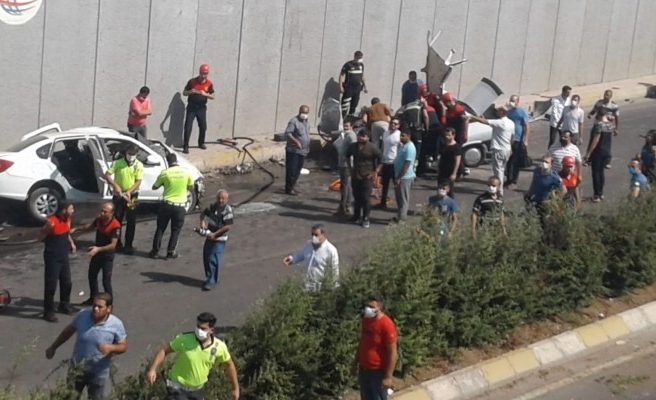 Şanlıurfa'da araçlar çarpıştı: 5 yaralı