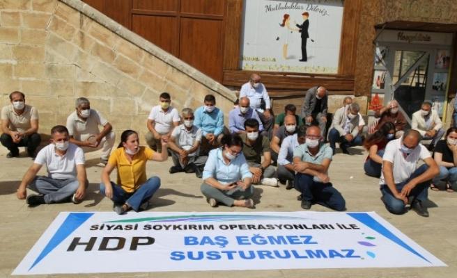 HDP'deki gözaltılara karşı Urfa'da protestolar sürüyor
