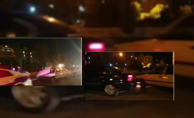 Şanlıurfa'da zincirleme kaza! 5 araç birbirine girdi