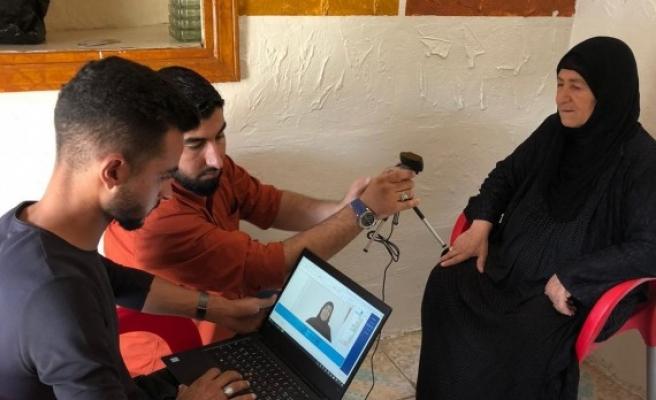 Resulayn'da kimlikler veriliyor: Evde nüfus hizmeti başladı