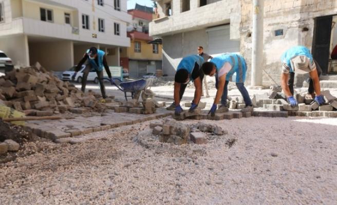 Haliliye'de çalışmalar Süleymaniye ve Ahmet Yesevi'de sürüyor