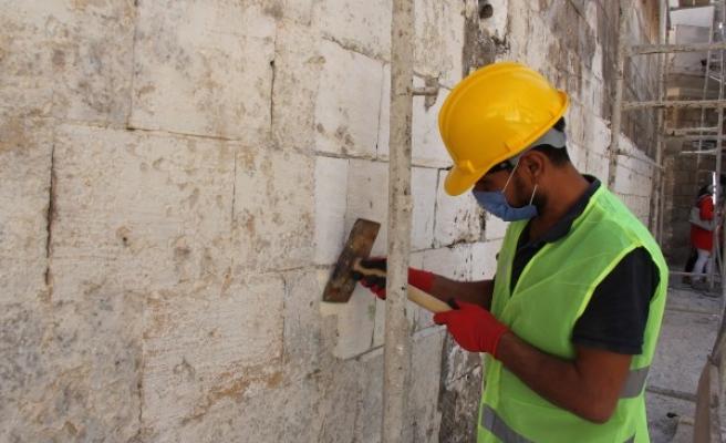 Eski Urfa sokaklarında çalışmalar başladı