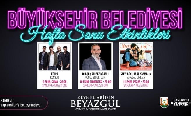 Urfa'da 3 etkinlik birden: Büyükşehir duyurdu