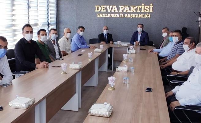 CHP ve DEVA yetkilileri bir araya geldi