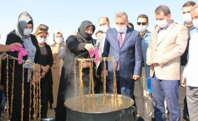 Büyükşehir, Tülmen'de Şire Şenliği düzenledi