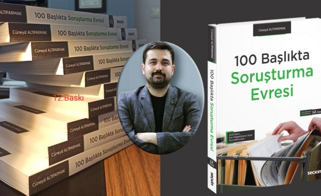 Avukat Altıparmak'ın başarısı: Kitabının 12. baskısı!