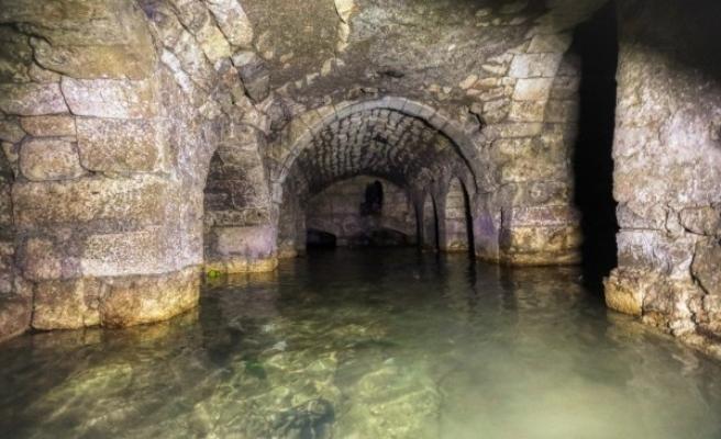 Şanlıurfa'da yeraltındaki 450 yıllık çarşı gün yüzüne çıkarıldı!