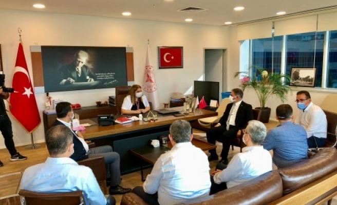 CHP heyeti Urfa milletvekili için Mersin'e gitti!